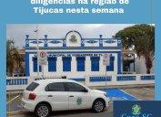 Agente fiscal fez diligências na região de Tijucas nessa semana. Siderópolis, Cocal do Sul e Ipira também foram visitados pela Fiscalização do Core-SC.