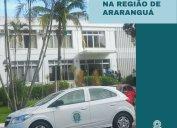 Agentes fiscais do Core-SC em diligências nas regiões dos municípios de Araranguá e Xanxerê nesta semana. Confira agenda da Fiscalização do Core-SC para abril.
