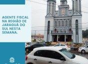FISCALIZAÇÃO CORE-SC: agente fiscal em diligências em Jaraguá do Sul e região nesta semana. Confira agenda do setor para o mês de julho.