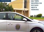 Fiscalização Core-SC: Diligências em três regiões do estado nesta semana. Agentes fiscais estão trabalhando nos municípios de Correia Pinto, Concórdia e Garuva.