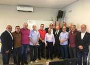 Diretoria do CORE-SC para o triênio 2020-2023. João Pedro da Silva Rosa é o diretor-presidente do CORE-SC.