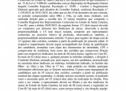 ELEIÇÃO CORE/SC - TRIÊNIO 2020/2023  - EDITAIS