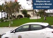 FISCALIZAÇÃO CORE-SC: agentes fiscais em diligências nas regiões dos municípios de Gravatal e Mondaí nesta semana. Objetivo é alertar sobre obrigatoriedade do registro profissional para o exercício da Representação Comercial.
