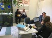 Delegacia Regional de Chapecó: mudança de sala trouxe mais espaço e conforto no mesmo endereço.